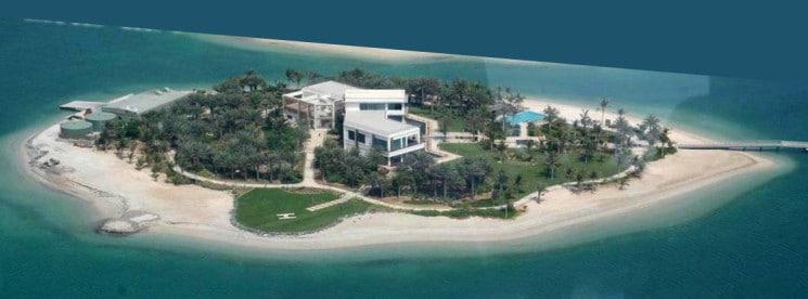 The World Island Schumacher