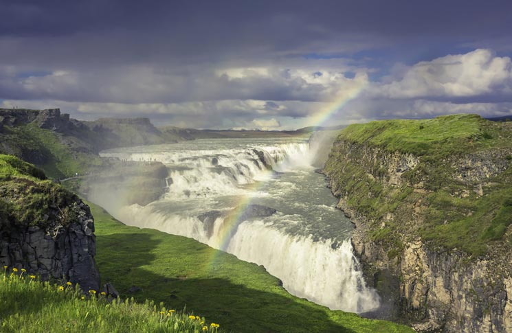 Gulfoss-in-Island