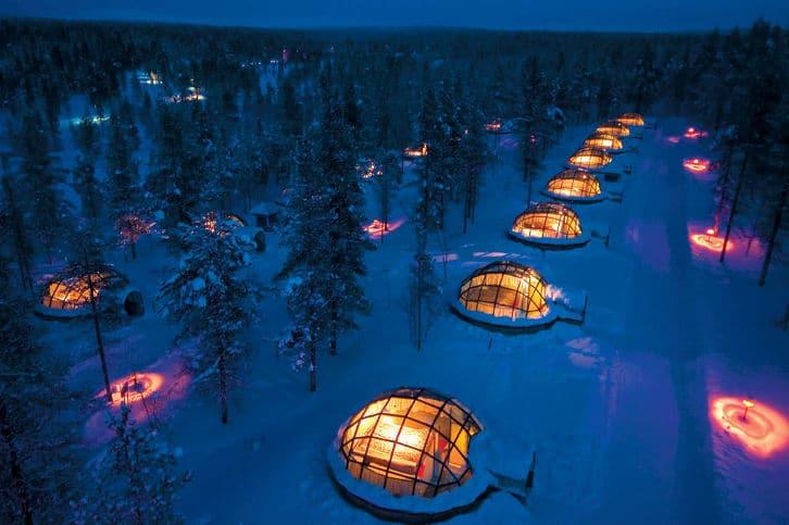 Hotel Igloo Village Kakslauttanen - Finnland