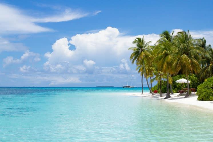 Malediven-im-Indischen-Ozean