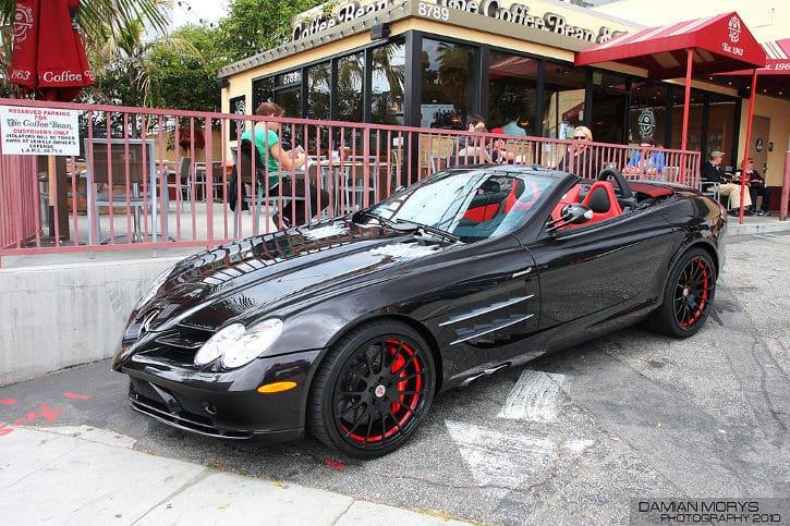 Prinz Marcus von Anhalt SLR McLaren Roadster.
