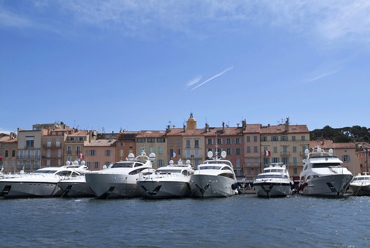 Port de Saint-Tropez – Saint Tropez, Frankreich