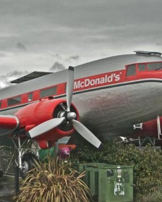 McDonald's Taupo Neuseeland
