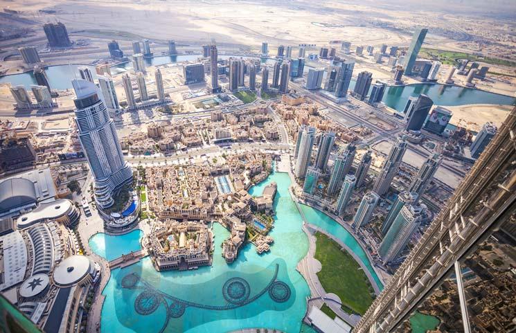 Burj Khalifa Aussichtsplattform