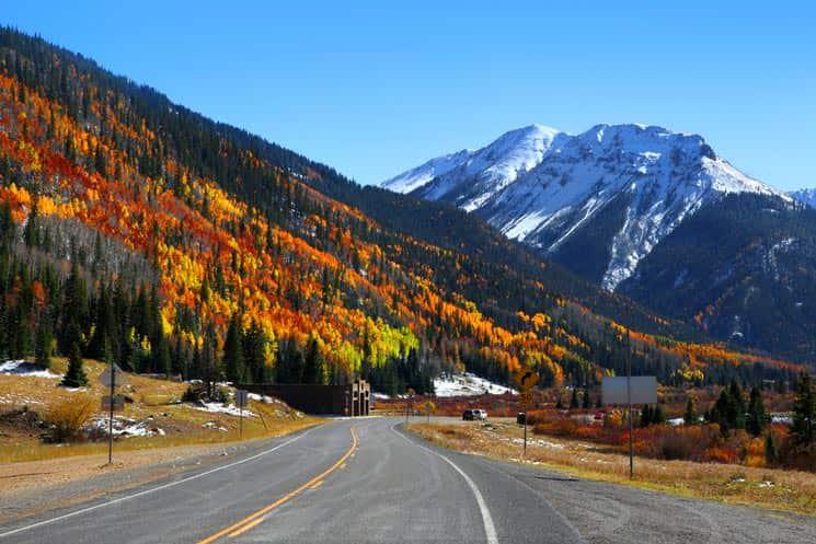 Million-dollar-highway-in-Colorado
