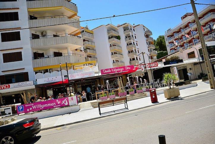 Café Katzenberger, Santa Ponca, Mallorca