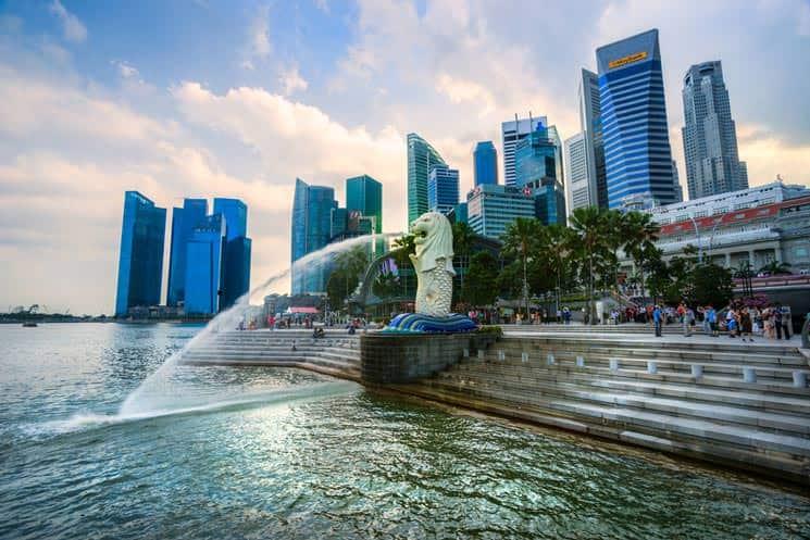 Skyline-von-Singapur