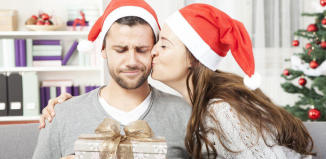 Unpassende Weihnachtsgeschenke