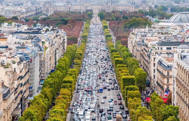 Shopping in der Champs-Élysées