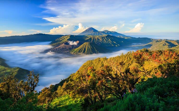 Bromo-Vulkan-auf-Java