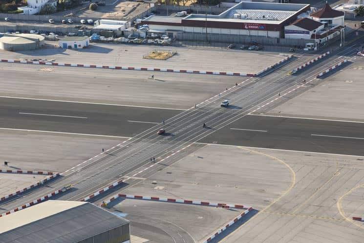 Flughafen-Gibraltar