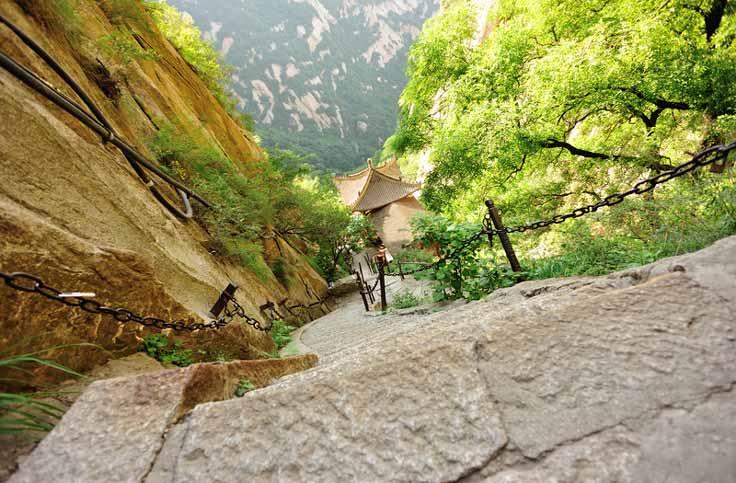 Hua Shan Aufstieg