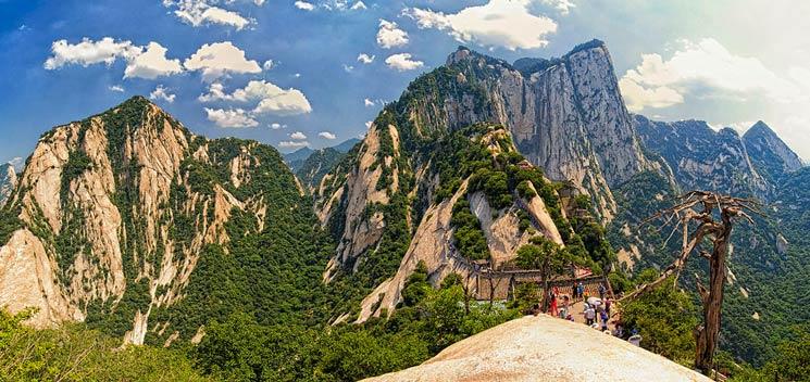 mount hua shan china 2011 von chensiyuan unter CC BY-SA 4.0