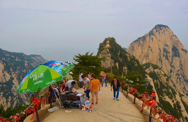 Jinsud-Pass-auf-dem-Hua-Shan
