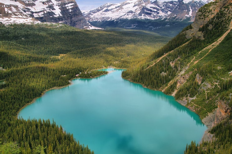 Lake-O-Hara-im-Yoho-National-Park-in-British-Columbia