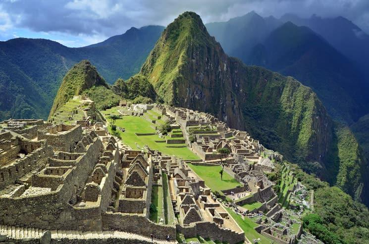 Machu-Picchu-Ruinenstadt-in-Peru