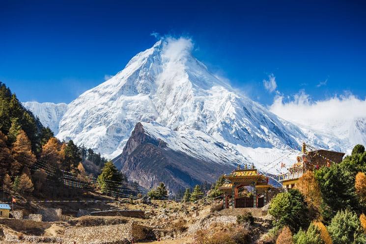 Manaslu-im-Himalaya