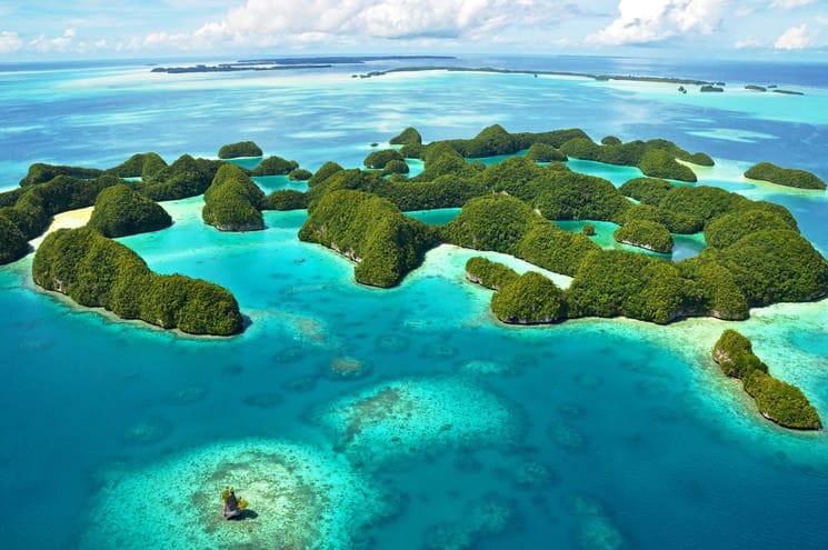 Palau-im-Pazifischen-Ozean