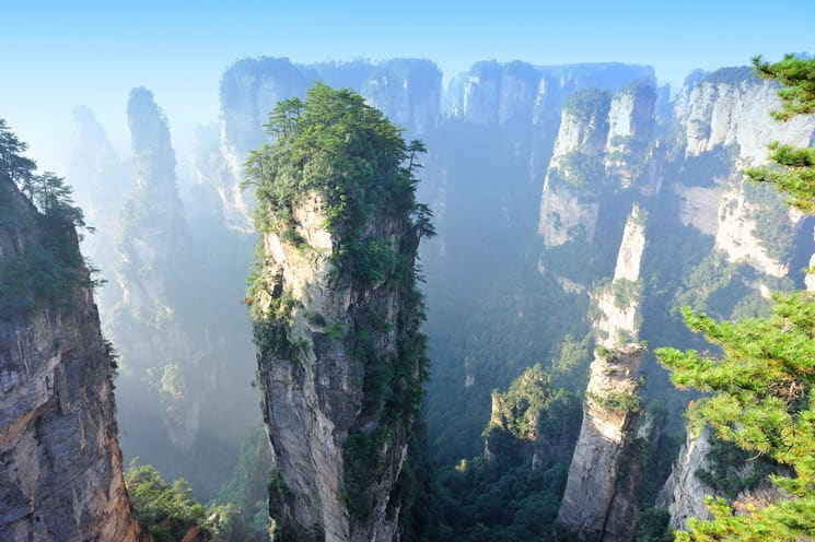 Zhangjiajie-National-Forest-Park-in-China