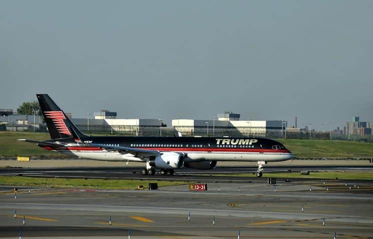 Trump-Privatjet-Boeing-757-200