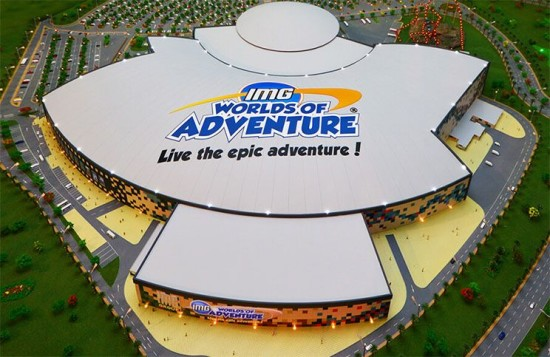 IMG Worlds of Adventure im Dubailand