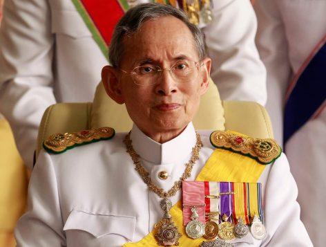 Bhumibol Adulyadej, der König von Thailand