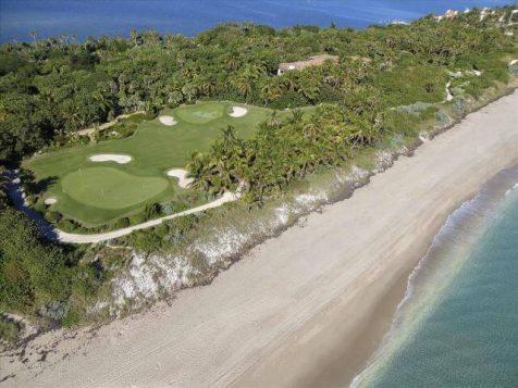 Paradiesische Villa mit Privatstrand für 186 Millionen Euro in Florida