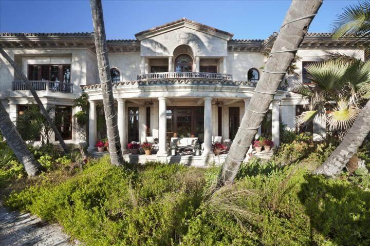 Paradiesische Villa mit Privatstrand für 186 Millionen Euro in Florida, eine der teuersten Luxusimmobilien der Welt