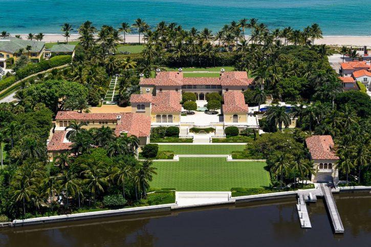 Renaissance-Villa mit Geheimtunnel und Theater für 130 Millionen Euro in Florida