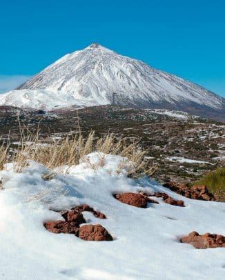 Pico del Teide, der höchste Berg in Spanien, Teneriffa, Kanarische Inseln