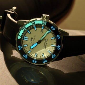 IWC Aquatimer - eine von vielen exklusiven Luxusuhren