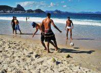 Brasilianisch Fußball Copacabana Rio