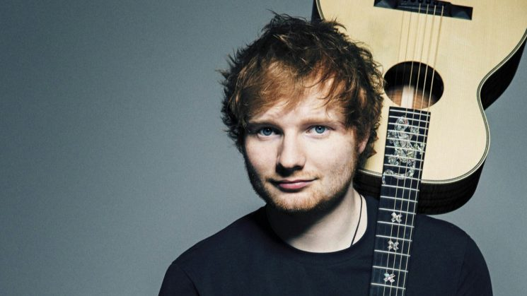 Mit seiner Akustik Gitarre und seinem melodischen, herzzerreißendem Gesang begeistert der Sänger Ed Sheeran die Welt