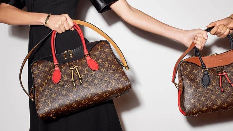 Louis Vuitton als Statussymbol der Großstadt-Fashionqueens