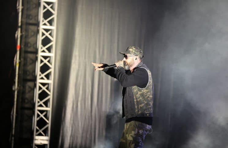 Sido beim Out4Fame-Festival 2016