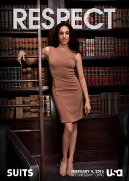 Anwaltsgehilfin Rachel Zane in der Serie Suits