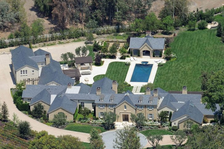 Die Luxusvilla von Kim Kardashian und Kanye West in den Hidden Hills (Los Angeles)