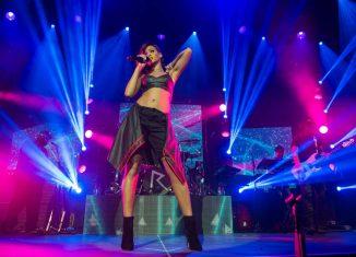 Rihanna bei der 777 Tour