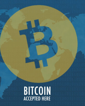 Akzeptanz von Bitcoin in der Welt